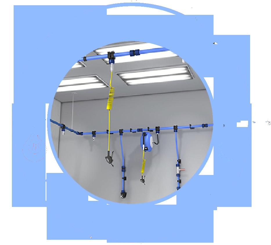 logo AIR COMPRESSED system